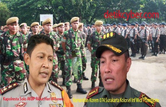 Ribuan Personel Gabungan TNI-Polri Siap Sterilkan dan Amankan Kunker Jokowi