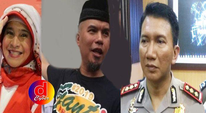 Polisi Siap Bubarkan Jalan Sehat Ahmad Dhani di Solo
