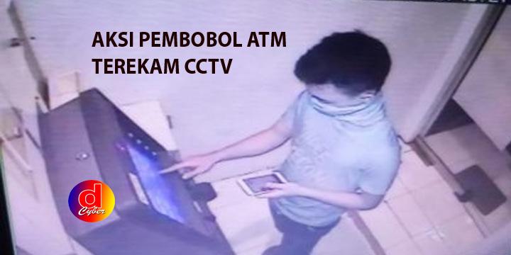 Bobol ATM BRI Terekam CCTV, Tersangka Gasak Rp 40 Juta