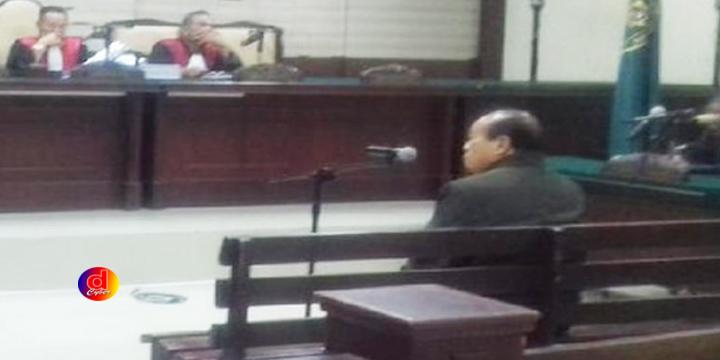 Susilo Prabowo Dituntut 3 Tahun Penjara