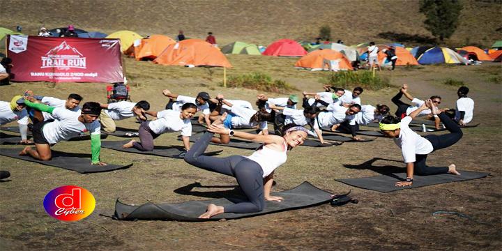 Semen Indonesia Gelar Trail Run Camp di Ranu Kumbolo
