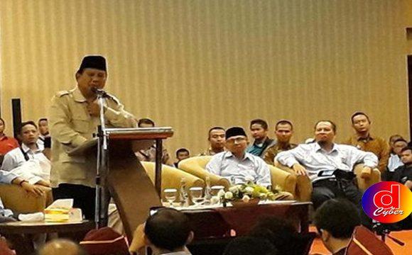 Prabowo – Amien Rais Hadiri Silaturahmi dan Deklarasi AMM