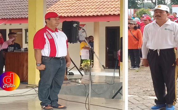 Dengan Motto Satu Untuk Semua, Semua Untuk Satu, Kecamatan Sutojayan Gelar Outbound