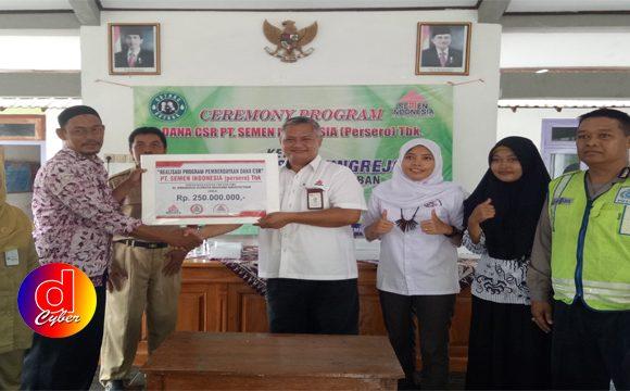 Semen Indonesia Realisasikan Program Pemberdayaan Masyarakat Senilai Rp7,25 M di Kabupaten Tuban