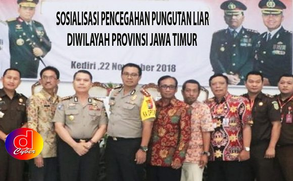 Polda Jatim Gelar Sosialisasi Cegah Pungli