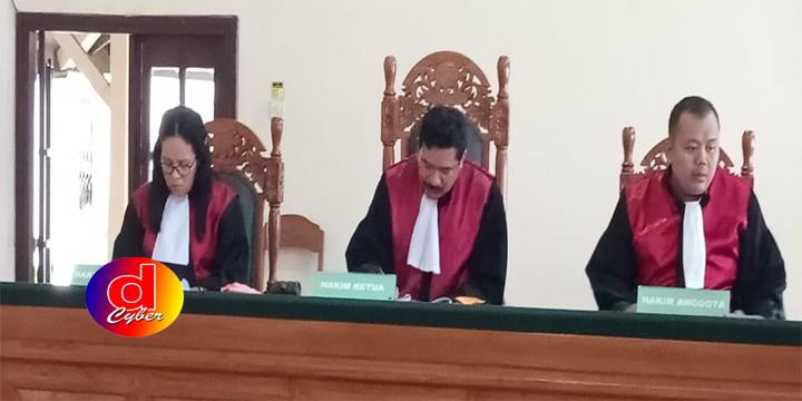 Sidang Narkoba PN Blitar, JPU Tuntut Terdakwa 6 Tahun Penjara