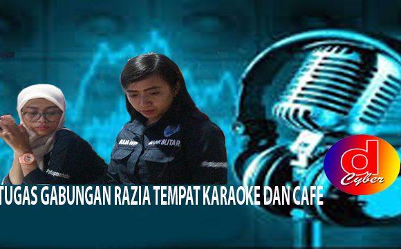 Jelang Tahun Baru, Polisi Obok-Obok Karaoke Di Blitar