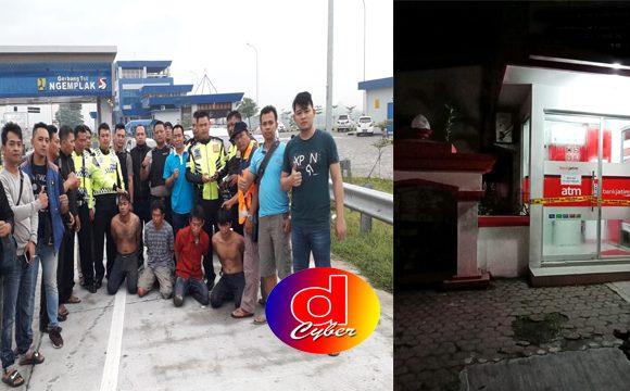 BREAKING NEWS : Sengaja Pintu Tol Ditutup, Komplotan Spesialis Pembobol ATM Ditangkap Polisi