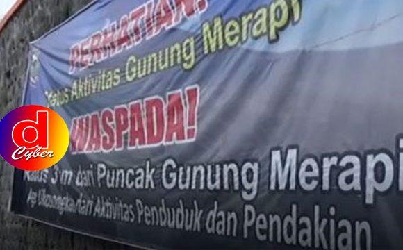 Waspada Merapi : Tiga Daerah Siapkan Tempat Evakuasi