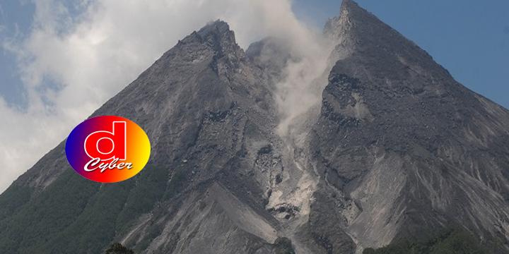 Merapi Keluarkan Guguran Awan Panas Sebanyak  7 Kali Ke Arah Kali Gendol