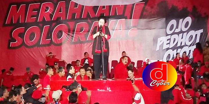 Megawati : Targetkan PDIP Solo Raya 80 Persen Suara