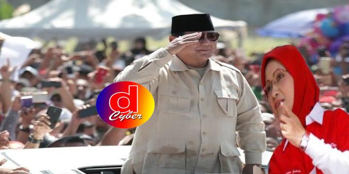 Rustriningsih Blak-Blakan Buka Kampanye dan Dukung Prabowo di Kandang Banteng