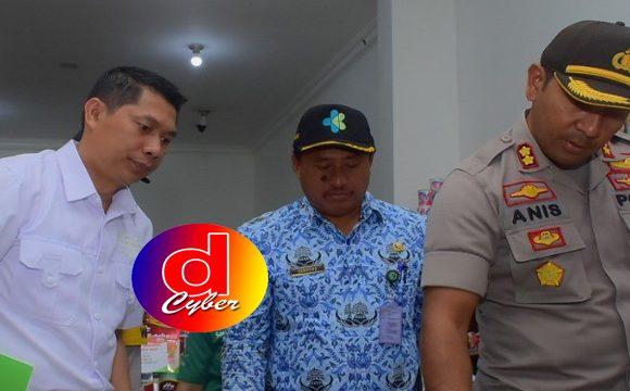 Polres Blitar Bersama Instansi Terkait Sidak Pasar Swalayan Pastikan Produk Pangan Aman di Konsumsi