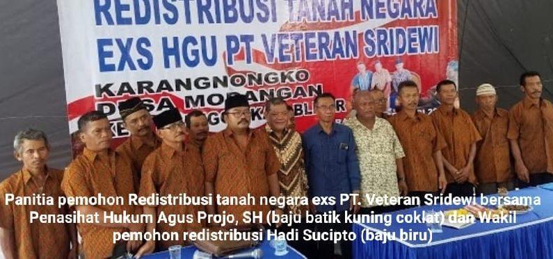 Dilaporkan ke Polda, Panitia Pemohon Redistribusi Meradang akan Tuntut Balik