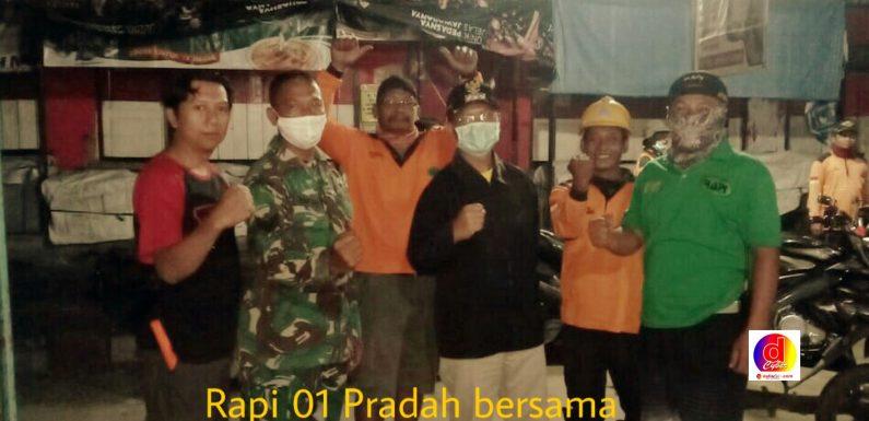 Rapi Lokal 01 Pradah Bersinergi Bersama Muspika Sutojayan