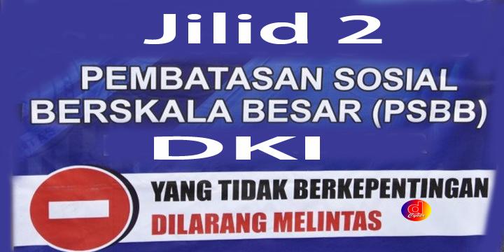 Sanksi Teguran Hingga Denda Rp 50 Juta Bagi Pelanggar PSBB di DKI
