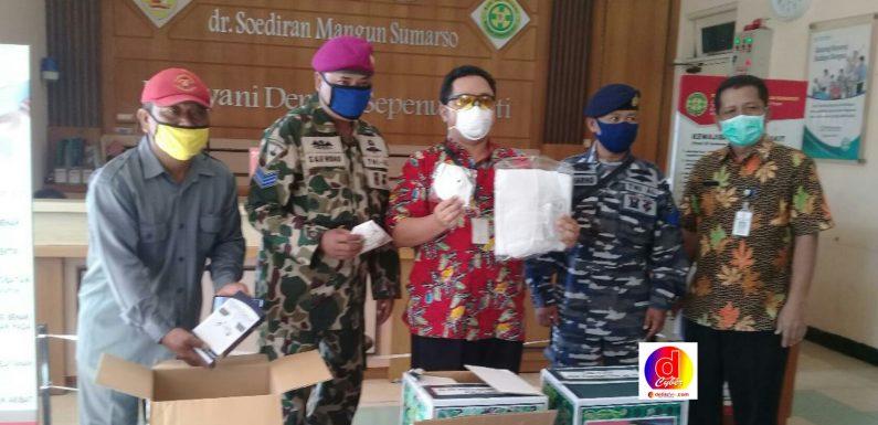 PAGUYUBAN  BOLO SEGORO  PRAJURIT TNI  AL ASAL  WONOGIRI  PEDULI  PANDEMI  COVID-19