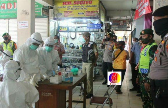 Toserba Baru dan Pasar Kota Wonogiri di  Rapid Test
