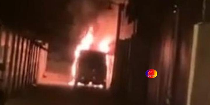 Alphard Milik Via Vallen Diduga Dibakar Orang
