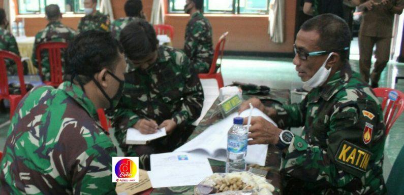 Tim Itdam IV/Diponegoro Kunjungi Kodim 0728/Wonogiri