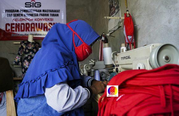 UMKM Binaan SIG Melakukan Inovasi Produk di Masa Pandemi Covid-19
