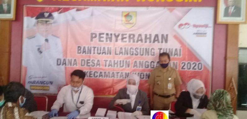 BLT ( DD ) Bantuan Langsung Tunai Dana Desa Dikucurkan di Kabupaten Wonogiri