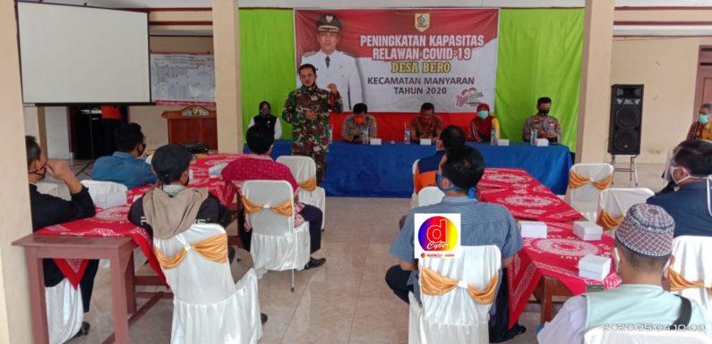 Desa Bero Wonogiri Adakan Pelatihan Penanganan Jenazah Pasien Covid-19
