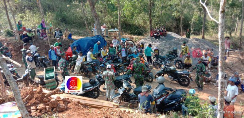 Pra TMMD Sengkuyung Tahap III Kodim 0728/Wonogiri Di Desa Bero