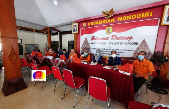 Penyaluran BSP Kecamatan Wonogiri Kota Berjalan dengan tertib