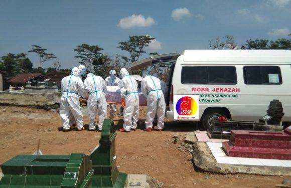 Pemakaman Standar   Penanganan Covid – 19 di Wilayah Kec. Girimarto Kab. Wonogiri