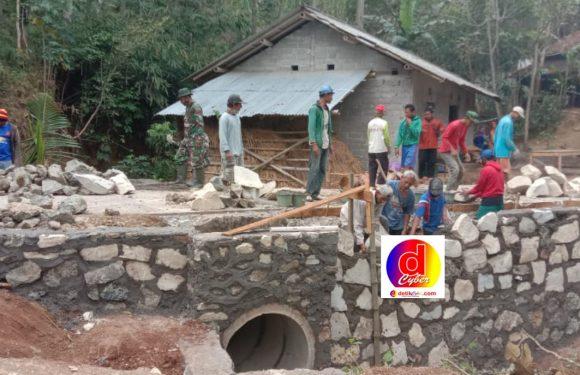 Program TMMD Desa Bero Terus Dikebut