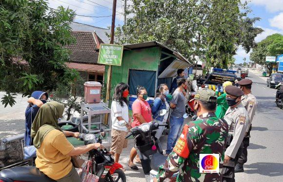Ops Gakplin Prokes : Masih Ditemukan Warga Yang Tidak Memakai Masker
