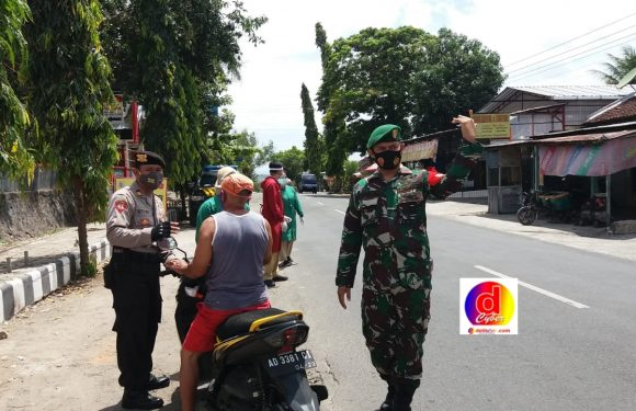 Kecamatan Wuryantoro Gelar Operasi Gakplin Prokes