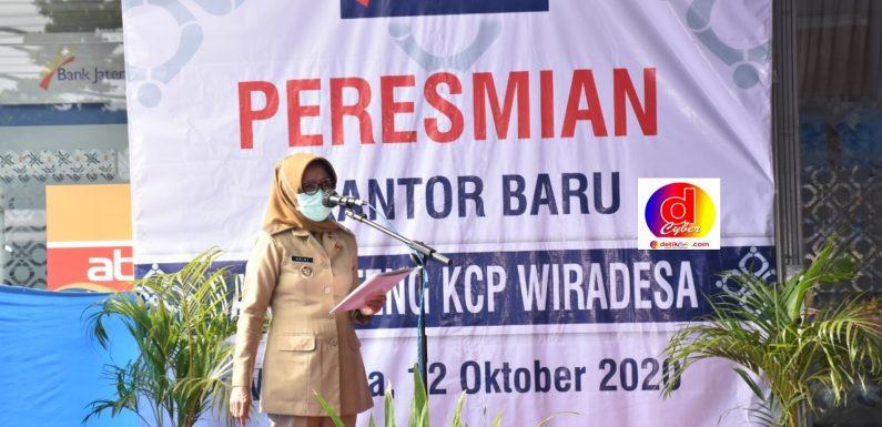 PLT BUPATI Ir. ARINI HARIMURTI RESMIKAN KANTOR BARU  BANK JATENG  KCP WIRADESA