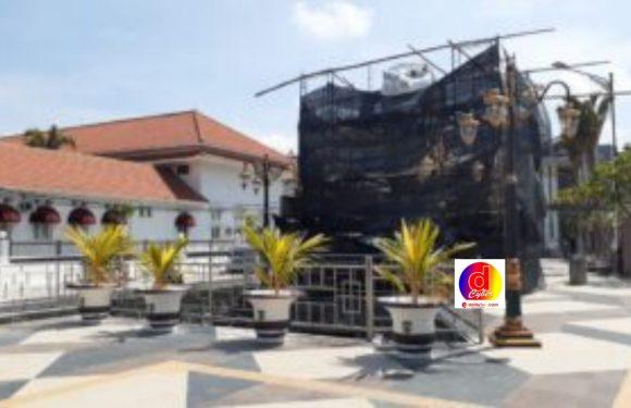 Jawaban Walikota Madiun Terkait Pembangunan Patung Merlion di Taman Sumber Wangi