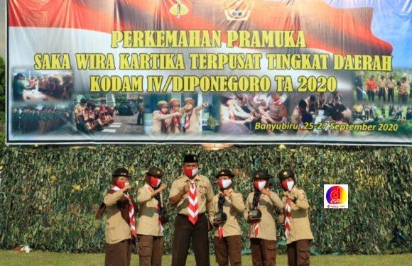 Mantap ! Saka Wira Kartika Raden Mas Said Raih Juara I Dan III Tingkat Daerah Kodam IV Diponegoro