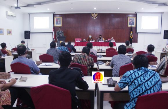 Rakor Tim Desk Pilkada Kabupaten Wonogiri