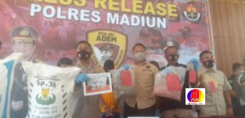 Pengedar Pupuk Aspal di Kabupaten Madiun Terancam Hukum Penjara 6 Tahun