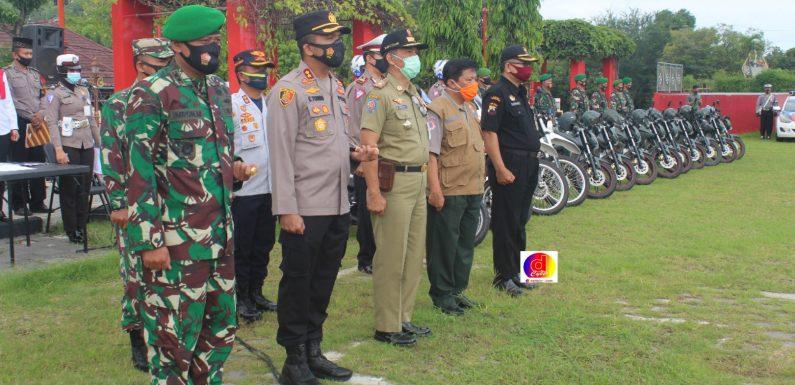 Apel Gelar Pasukan Pengamanan Hari Raya Natal Tahun 2020 Dan Tahun Baru 2021