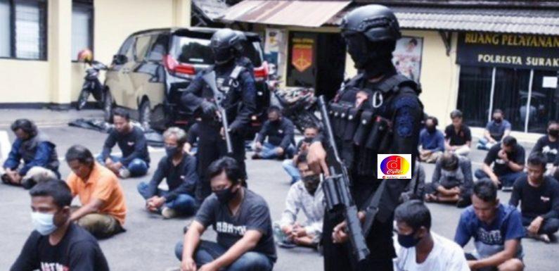 Geruduk BPR di Solo, Diamankan Polisi