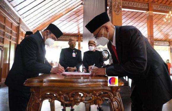 Pelantikan Pimpinan Solo Techno Park dan Ketua Dewan Pengawas Bank Solo, Pesan Walikota Begini
