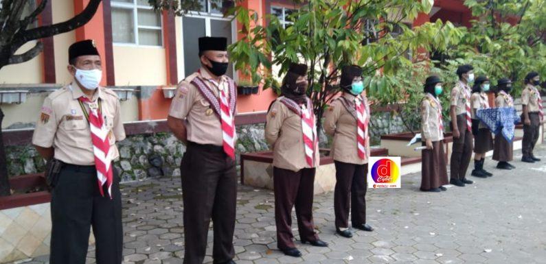 Pelantikan Penegak Laksana Gugus Depan SMA Negeri 2 Wonogiri