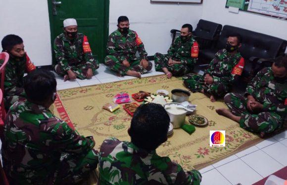 Pergantian Tahun Baru Koramil Wuryantoro Gelar Doa Bersama
