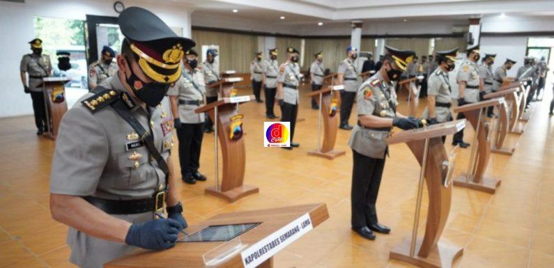 Sertijab Pejabat Utama dan Kapolres Jajaran Polda Jateng