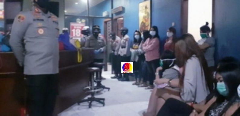 Nekad Melanggar Ketentuan PPKM Di Pati, Tempat Karaoke dan Pengunjung Terjaring Operasi