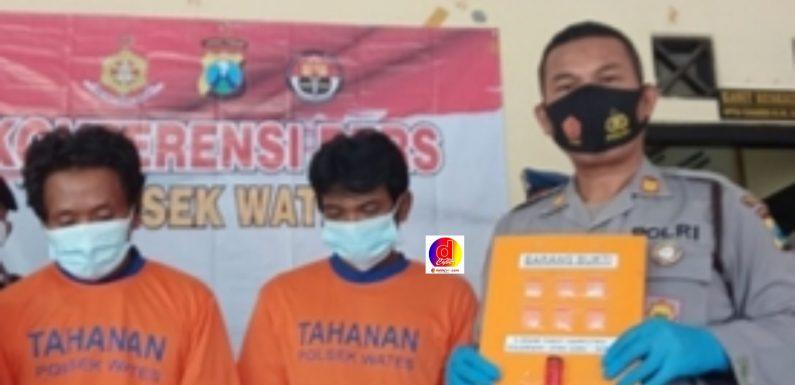 Dua Pengedar Sabu, Berhasil Dibekuk Polsek Wates Polres Kediri