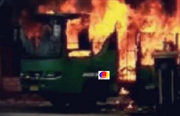 Bus Terbakar Di Simo Boyolali, Dugaan Sementara Korsleting