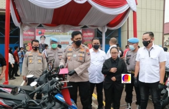 Subdit Jatanras Direskrimum Polda Jatim: Berhasil Amankan 5 Tersangka Penyelundup Kendaraan Bodong Ke Timor Leste