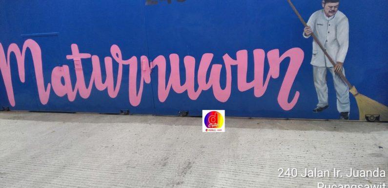 Jelang Purna Tugas Walikota Solo: Komunitas Seniman Kota Solo Buat Karya Mural Untuk Rudy