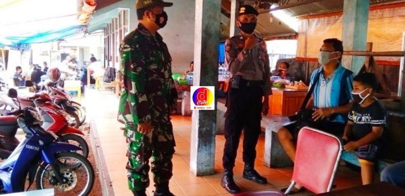 PPKM Mikro, TNI-Polri Pantau Ketat Penerapan Prokes